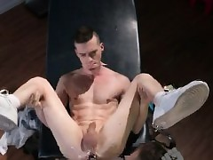 Group fisting  gay Axel Abysse gets..