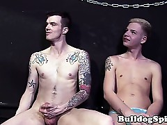 British dom fingers and spanks sub twink